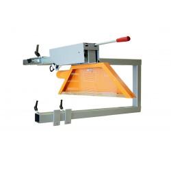 Bridge protection for panel saw
